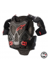 A-6 CHEST PROTECTOR 1036 BLACK RED