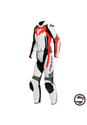 AVRO D2 2 PCS LADY SUIT 26G WHITE FLUO-RED GRAY