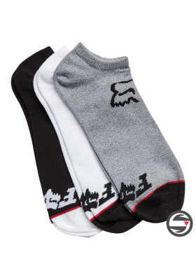 24185-582 FOX NO SHOW SOCK 3 PACK MISC