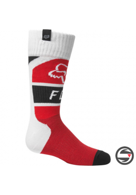 28196-110 YOUTH FOX LUX SOCK FLUO RED