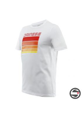 STRIPES T-SHIRT 602 WHITE RED
