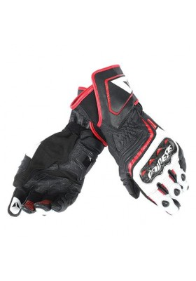 CARBON D1 LONG GLOVES V78 BLACK WHITE LAVA-RED