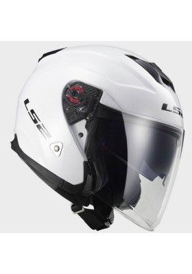 OF521 INFINITY JET HELMET GLOSS WHITE