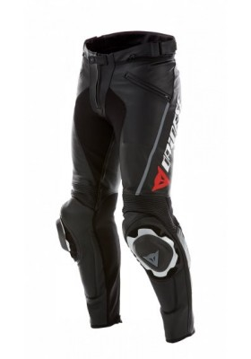 DELTA PRO C2 LEATHER PANTS BLACK BLACK MAN
