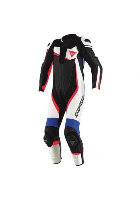 VELOSTER 1 PC PERF. SUIT WHITE BLACK SKY-BLUE