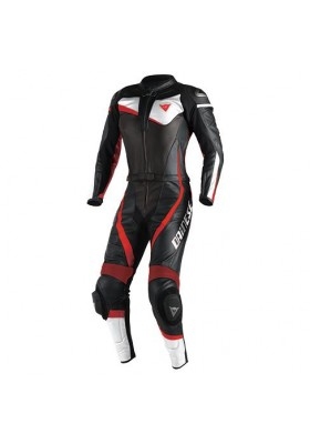VELOSTER 2 PCS SUIT LADY BLACK WHITE RED FLUO