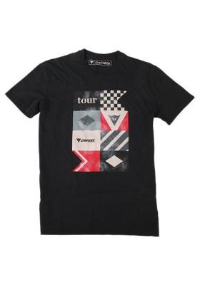 T-SHIRT TOUR BLACK