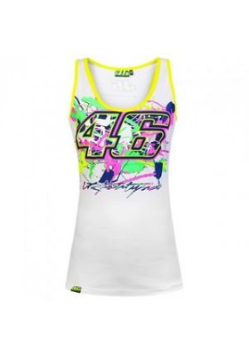 TANK TOP VR46 WOMAN WHITE 205806