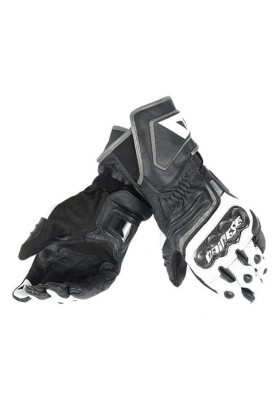 CARBON D1 LONG GLOVES V82 BLACK WHITE