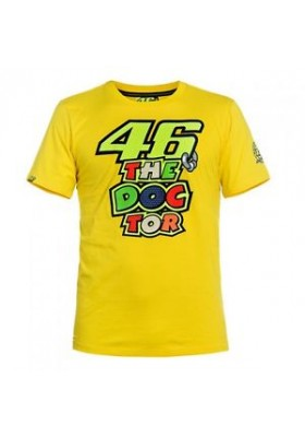 T-SHIRT VR46 MAN YELLOW 204701