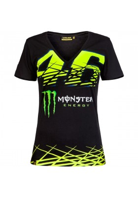 T-SHIRT VR46 MONZA WOMAN BLACK 217304