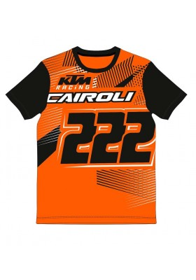 T-SHIRT WOMAN ORANGE CAIROLI KTM1213