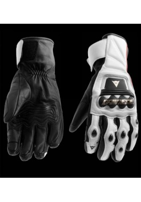CARBON TECH GLOVES BIANCO