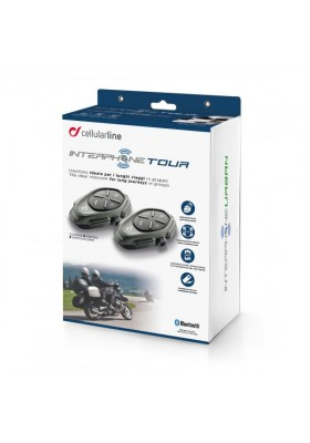 INTERFONO CELLULARLINE TOUR TWIN PACK
