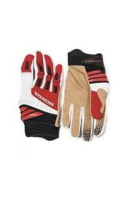 ADVENTURE GLOVE AIR 067 WHITE/RED