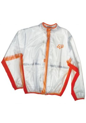 FLUID MX JACKET CLEAR ORANGE
