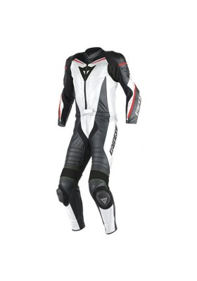 LAGUNA SECA D1 2 PCS SUIT WHITE BLACK RED