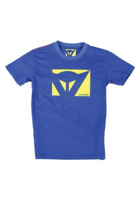 T-SHIRT COLOR NEW KID BLUE YELLOW-FLUO