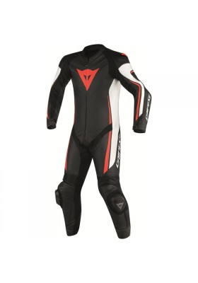 ASSEN 1 PC PERF. SUIT N32 BLACK WHITE RED