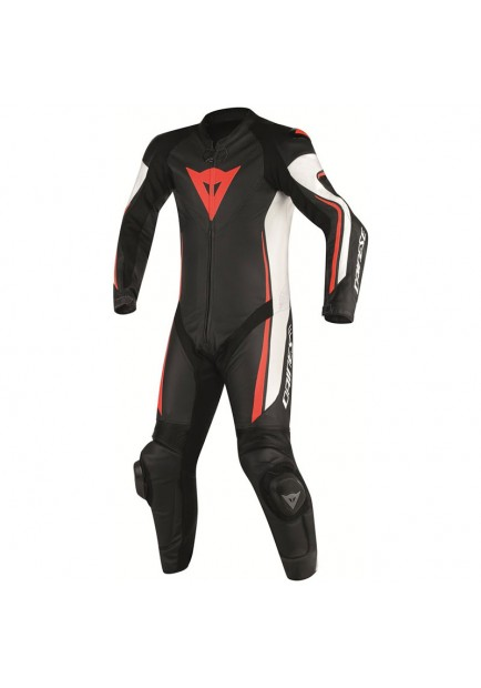 ASSEN 1 PC PERF. SUIT BLACK WHITE RED
