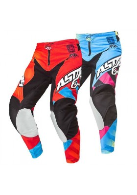 ALPINES. YOUTH RACER PANT 37 RED BLUE
