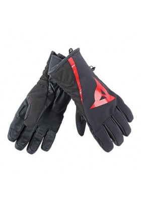 JR RACE 13 GLOVE BLACK FIRE-RED