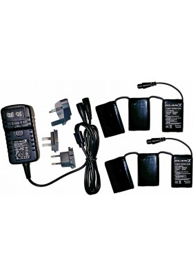 KLAN BATTERY/CHARGER KIT 12V 3A