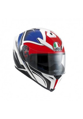 K-5 ROADRACER WHITE RED BLUE
