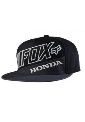 CAP HONDA PREMIUM SB HAT GRAY BLACK FOX