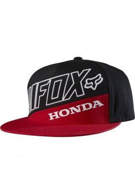 CAP HONDA PREMIUM SB HAT RED BLACK FOX