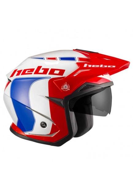 HEBO Trial Zone policarbonato Casco Taglia XL Nero