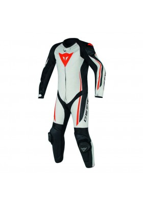 ASSEN 1 PC PERF. SUIT WHITE BLACK RED