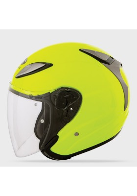 KABUTO AVAND II FLASH YELLOW