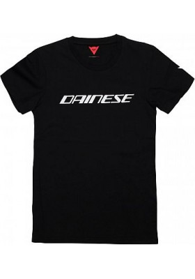 DAINESE T-SHIRT 622 BLACK WHITE