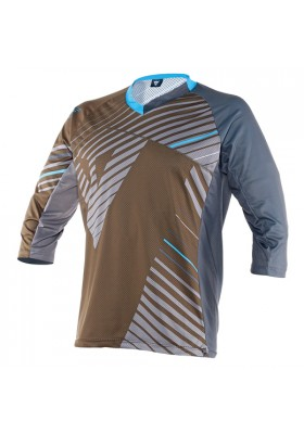 FLOW TECH JERSEY 3/4 T34 ASPHALT
