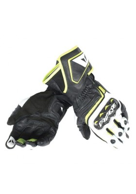 CARBON D1 LONG GLOVES V79 BLACK YELLOW FLUO