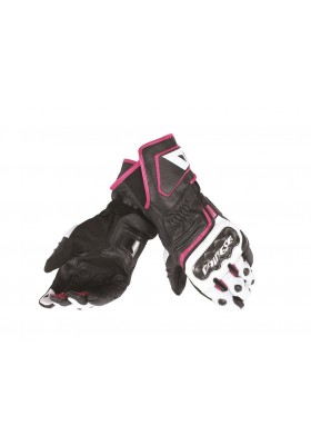 CARBON D1 LONG LADY GLOVES V81 BLACK FUCHSIA