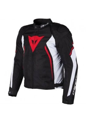 AVRO D2 TEX JACKET 858 BLACK WHITE RED