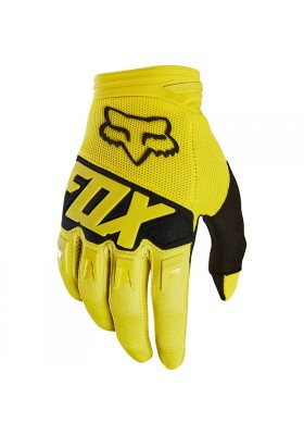 DIRTPAW RACE GLOVE FOX YELLOW (19503-005)