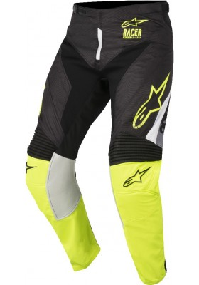ALPINES. RACER SUPERMATIC PANTS 1511 BLACK YELLOW