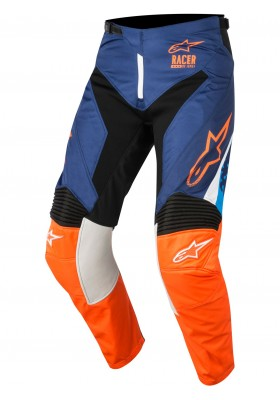 ALPINES. RACER SUPERMATIC PANTS 7049 BLUE ORANGE
