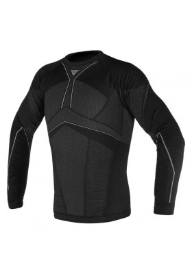 D-CORE AERO TEE LS 604 BLACK ANTHRACITE