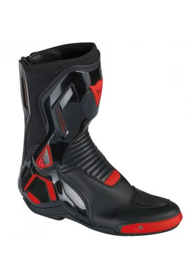 SPORT COURSE D1 OUT BOOTS 628 BLACK RED-FLUO