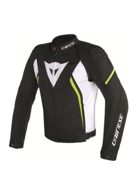 AVRO D2 TEX JACKET Q90 BLACK WHITE YELLOW-FLUO