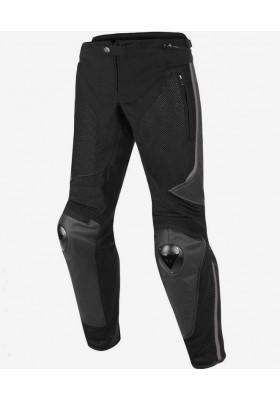 MIG LEATHER-TEX PANTS 691 BLACK