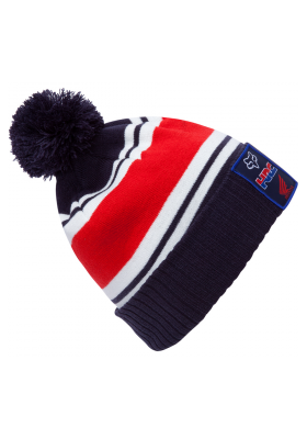 PIT HRC POM BEANIE FOX BLUE RED (20827-007)