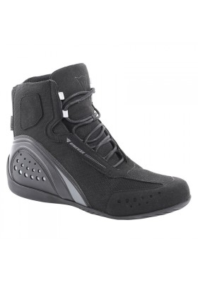 SCARPA MOTORSHOE JB AIR 685 SHOES BLACK BLACK