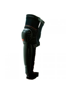 RACING KNEE GUARD BLACK WHITE