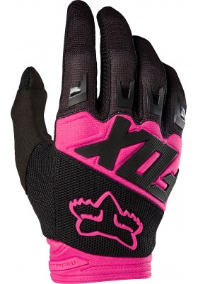 DIRTPAW RACE GLOVE FOX PINK BLACK (19503-285)