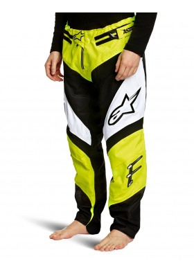 A-LINE PANTS YELLOW NEON